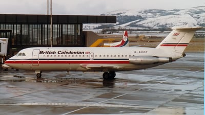 G-AVOF - British Aircraft Corporation BAC 1-11 Series 416EK - British Caledonian Airways