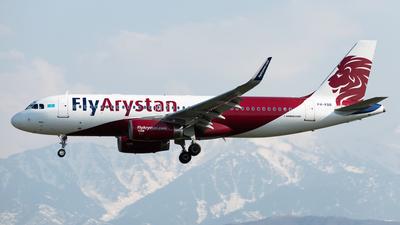 A picture of P4KBB - Airbus A320232 - Air Astana - © Yerbol Yespol - Kazakhstan Spotting Club