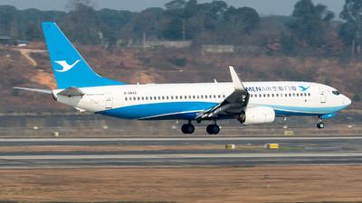 A picture of B6842 - Boeing 73785C - Xiamen Air - © ShirokaneRinko