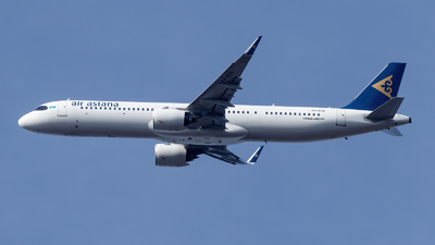 A picture of P4KGB - Airbus A321271NX - Air Astana - © TJDarmstadt
