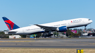 A picture of N709DN - Boeing 777232(LR) - [40559] - © John Zhao