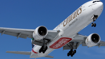 A6-EGN - Boeing 777-31HER - Emirates