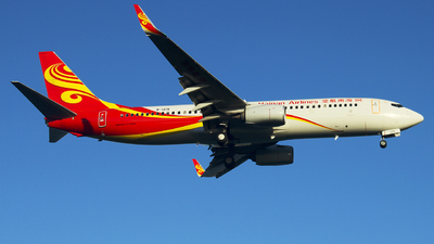B-1215 - Boeing 737-84P - Hainan Airlines