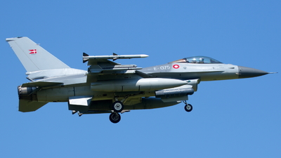 E-075 - General Dynamics F-16AM Fighting Falcon - Denmark - Air Force