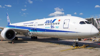 A picture of JA882A - Boeing 7879 Dreamliner - All Nippon Airways - © Matthew McDonald