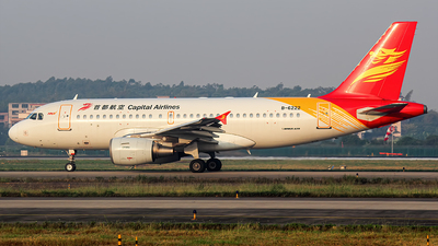 B-6222 - Airbus A319-112 - Capital Airlines