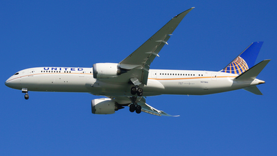 N27965 - Boeing 787-9 Dreamliner - United Airlines