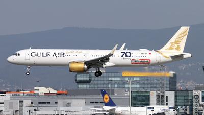 A9C-NA - Airbus A321-253NX - Gulf Air