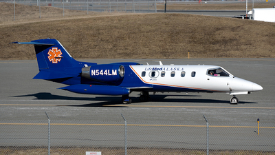 N544LM - Gates Learjet 35A - LifeMed Alaska