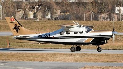 A picture of HBCQS - Cessna P210N Pressurized Centurion - [P21000167] - © BizavMen