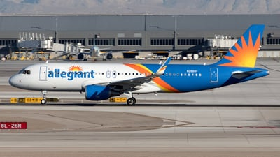 A picture of N256NV - Airbus A320214 - Allegiant Air - © Yixin Chen