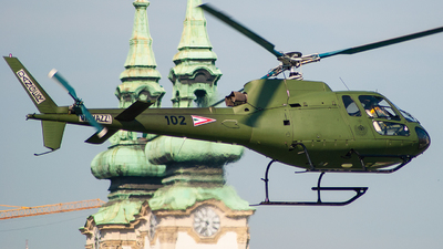 102 - Airbus Helicopters H125 - Hungary - Air Force