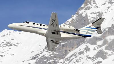 9A-JSD - Cessna 525A CitationJet CJ2 - Jung Sky
