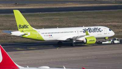 A picture of YLCSA - Airbus A220300 - Air Baltic - © RobertLN