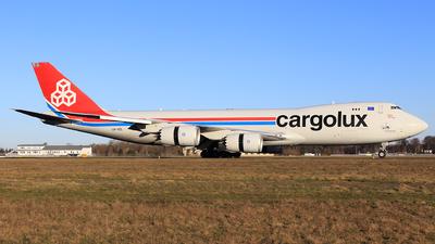 A picture of LXVCL - Boeing 7478R7(F) - Cargolux - © Helmut Schnichels
