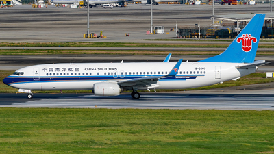 A picture of B206C - Boeing 73781B - China Southern Airlines - © Miaomiao