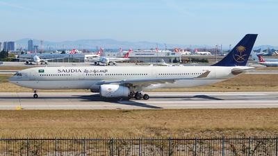 HZ-AQ18 - Airbus A330-343 - Saudi Arabian Airlines