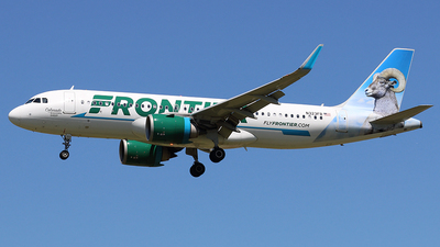 A picture of N323FR - Airbus A320251N - Frontier Airlines - © Joe Osciak