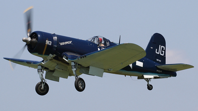 N83JC - Goodyear FG-1D Corsair - Private