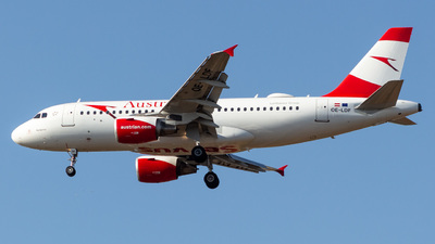 OE-LDF - Airbus A319-112 - Austrian Airlines