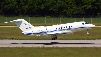 A picture of PRINF - Hawker 4000 Horizon - [RC34] - © Jeremy Denton