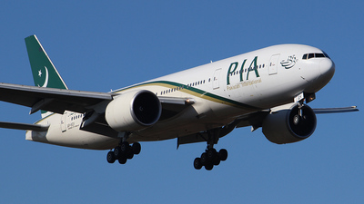 AP-BGY - Boeing 777-240LR - Pakistan International Airlines (PIA)