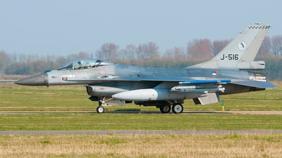J-516 - General Dynamics F-16AM Fighting Falcon - Netherlands - Royal Air Force