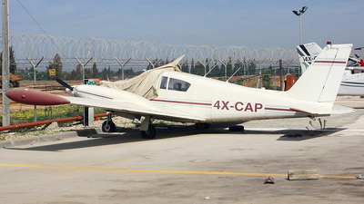 4X-CAP - Piper PA-30-160 Twin Comanche - Private