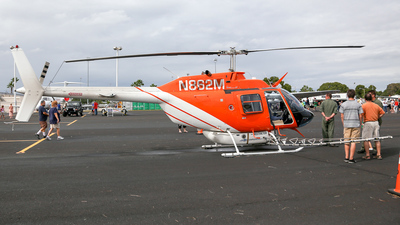 N862M - Bell 206B JetRanger III - United States - Lee County Mosquito Control District