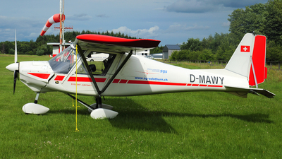 D-MAWY - Ikarus C-42 - Segelfluggruppe Solothurn