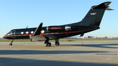 N734TJ - Gulfstream G-III - Private