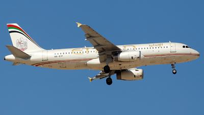 A6-EIP - Airbus A320-232 - Etihad Airways