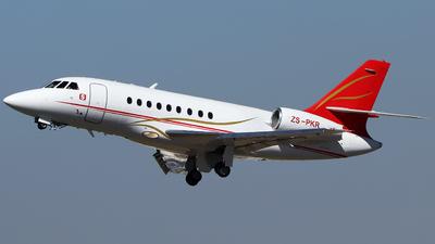 ZS-PKR - Dassault Falcon 2000 - Private