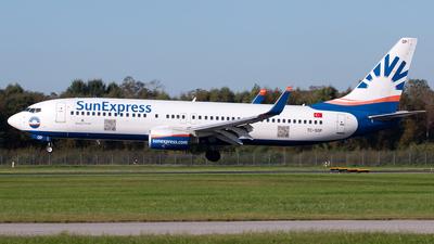 A picture of TCSOP - Boeing 7378AS - SunExpress - © Lennart Boettcher