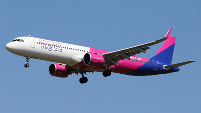 HA-LVC - Airbus A321-271NX - Wizz Air