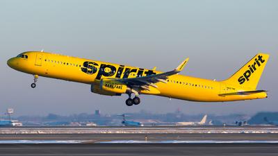 N667NK - Airbus A321-231 - Spirit Airlines