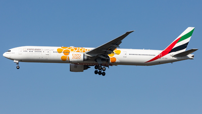 A picture of A6ECD - Boeing 77736N(ER) - Emirates - © Dongone Seo-Korea Aero Photos