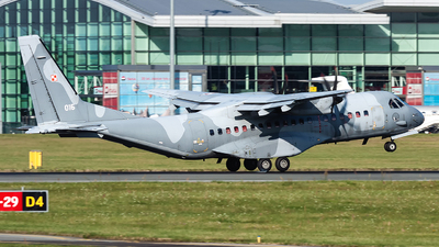 015 - CASA C-295M - Poland - Air Force