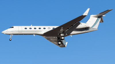 N345LC - Gulfstream G550 - Private
