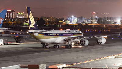 9V-SGA - Airbus A340-541 - Singapore Airlines