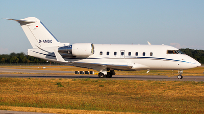 D-AMSC - Bombardier CL-600-2B16 Challenger 604 - MHS Aviation
