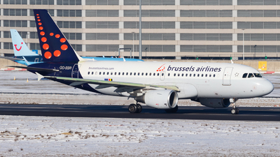 A picture of OOSSR - Airbus A319112 - Brussels Airlines - © Samuel Zerilli