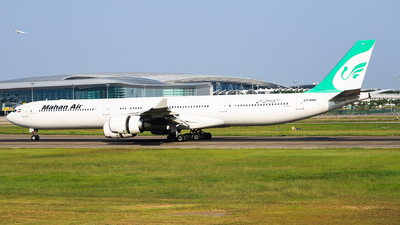 EP-MMH - Airbus A340-642 - Mahan Air