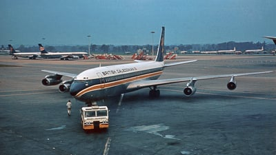G-BAWP - Boeing 707-349C - British Caledonian Airways
