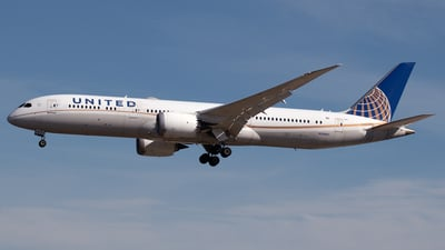 A picture of N29961 - Boeing 7879 Dreamliner - United Airlines - © PAUL LINK