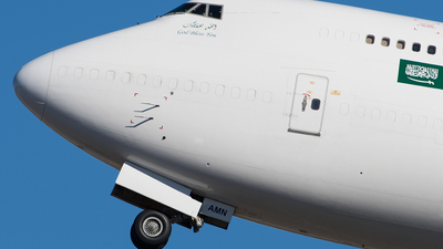 TF-AMN - Boeing 747-4F6(BDSF) - Saudi Arabian Airlines Cargo (Air Atlanta Icelandic)