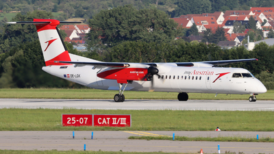 A picture of OELGK - De Havilland Canada Dash 8400 - Austrian Airlines - © Justin Stöckel