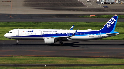 A picture of JA136A - Airbus A321272N - All Nippon Airways - © NRT Spotter