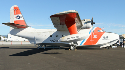 7245 - Grumman HU-16E Albatross - United States - US Coast Guard (USCG)