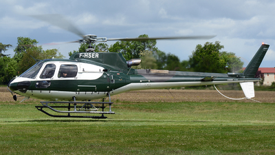 A picture of FHSER - Eurocopter AS350 B3 Squirrel - [7573] - © Romain Salerno / Aeronantes Spotters